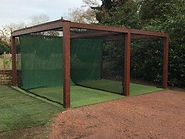 Wooden Framed Golf Practice Net