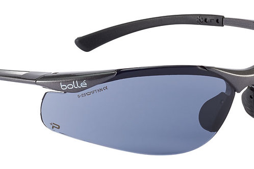 CONTOUR Platinum Smoke Bolle Safety Glasses