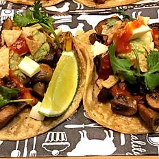 Mushrooms Tacos (GF) (V) (VGO) (2)