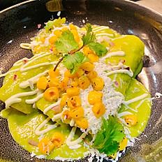 Green Enchiladas (GF) (V) (3)