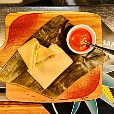 Veggie Tamales (2) (GF) (V)