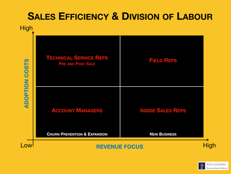 Sales Efficiency & Division of Labour Model