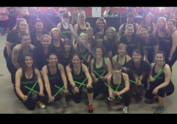 Pound Fit Fitness Expo Performance