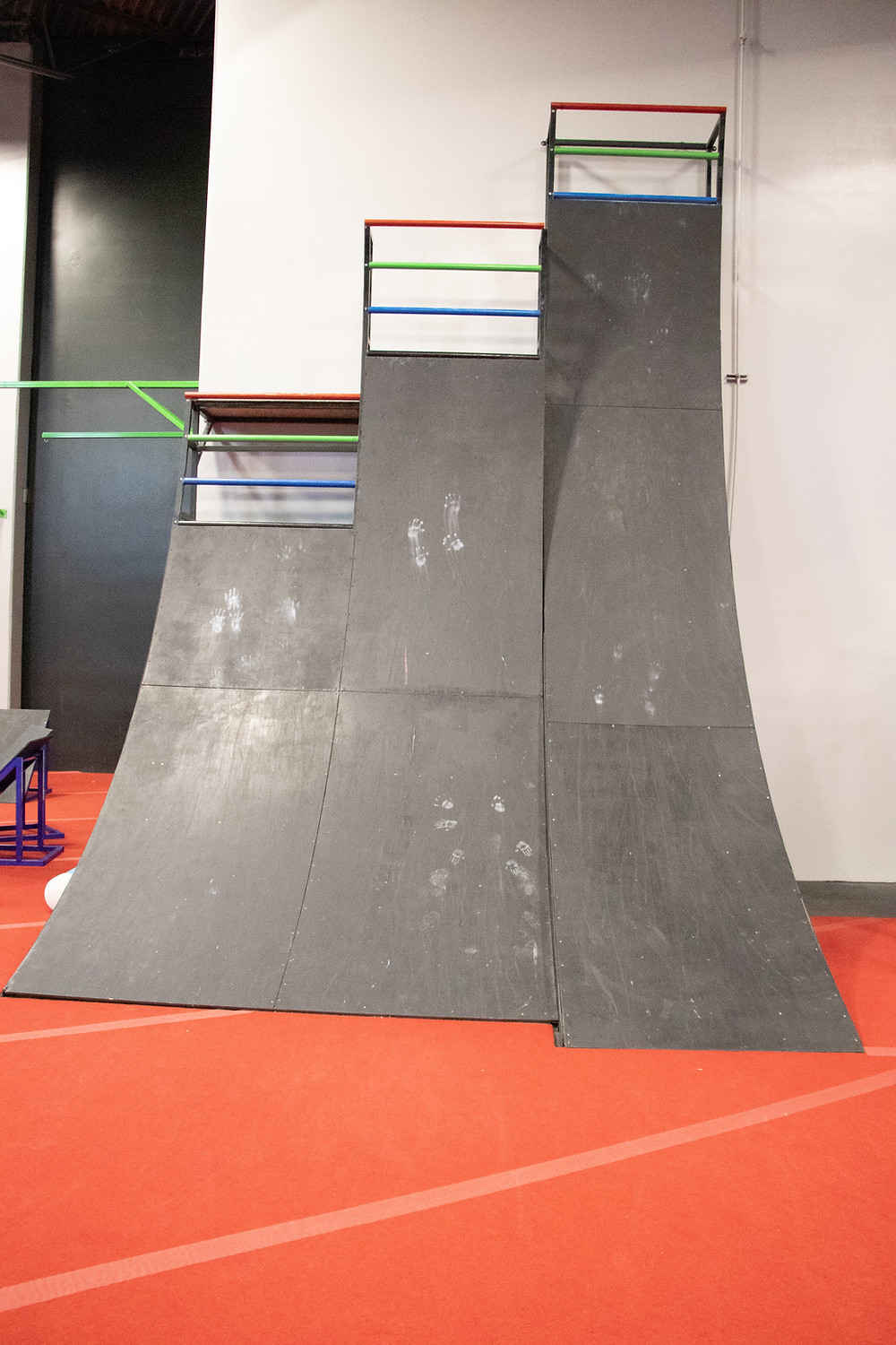 The 11 Sizes of Warped Wall down at the Ninja Playground