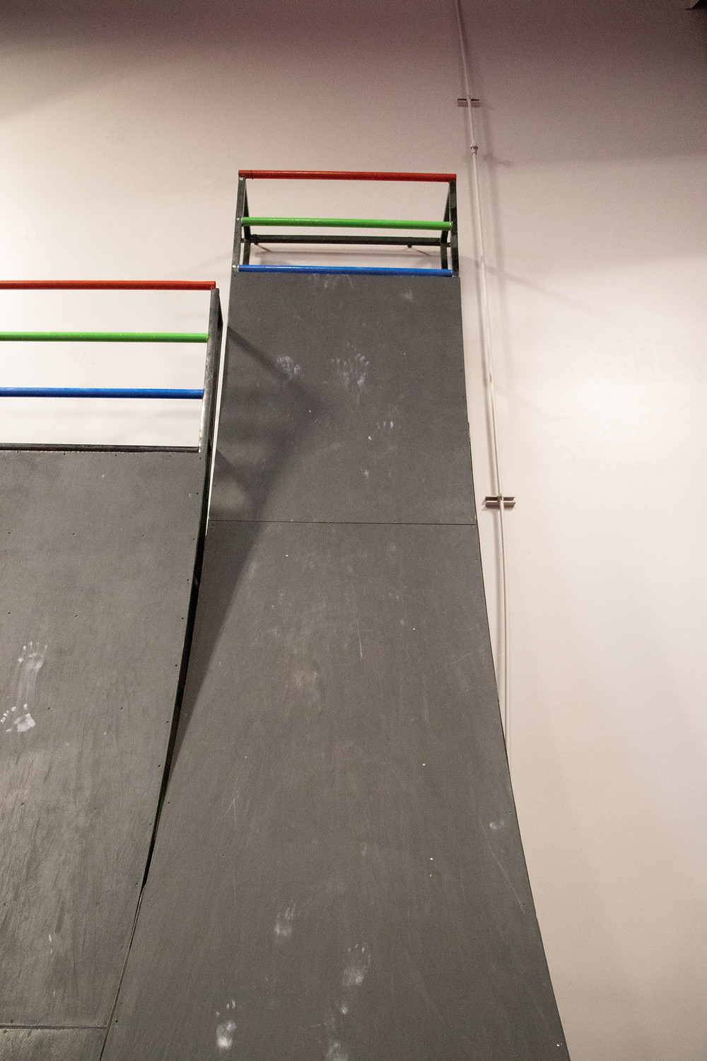 The 18 foot warped wall