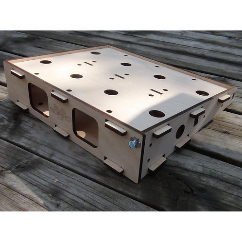 Bugboard Flat Top - Full featured Pedalboard with a large mounting surface