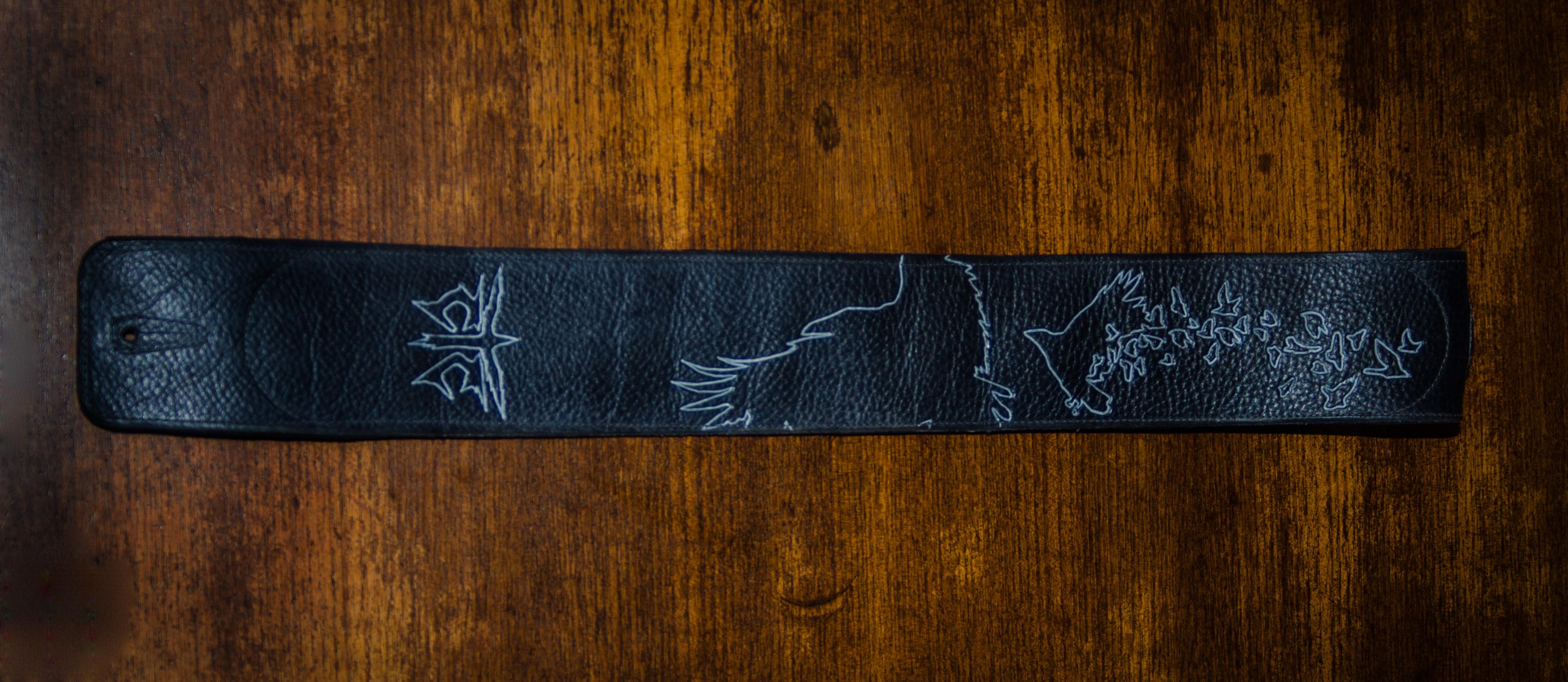 Custom Band Strap - Black