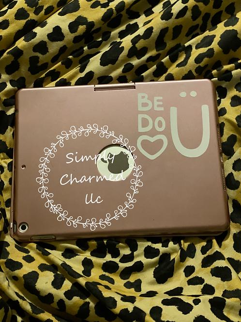 BE U - DO U ((decal))