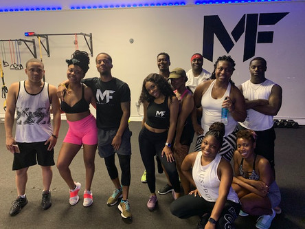 UACT teamed up with Multifitness for a good workout and a shoe drive collection!