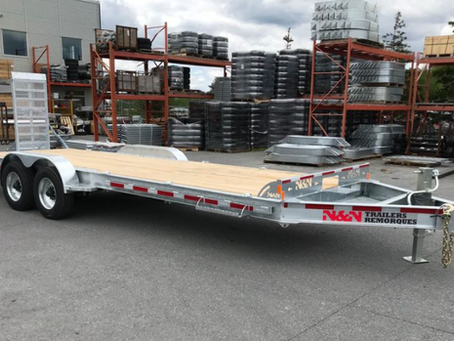 KLPS investigating the theft of flatbed trailer and tractor