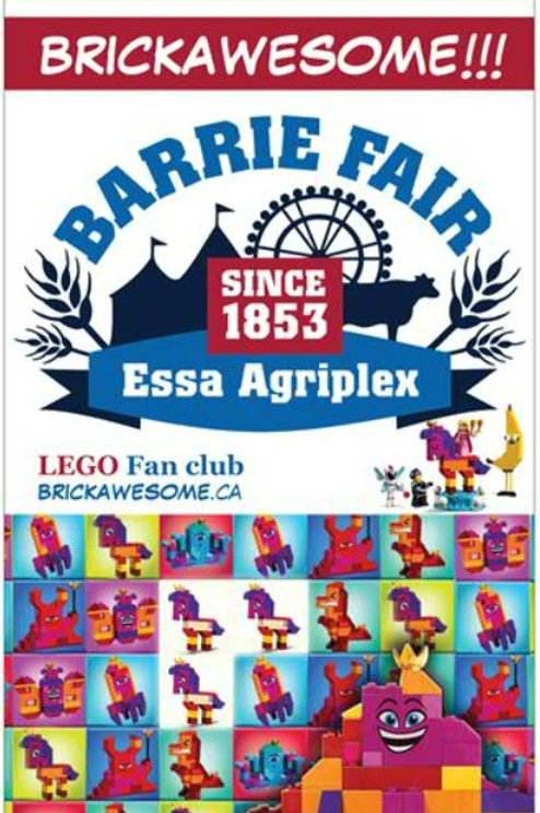 BRICKAWESOME!!! Barrie Fair Poster