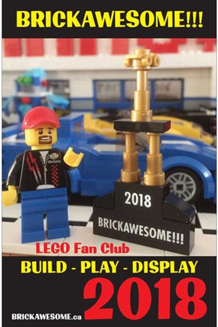 BRICKAWESOME!!! 2018 Poster