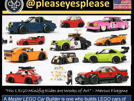 Winners of the 2020 International LEGO Car Designer Awards