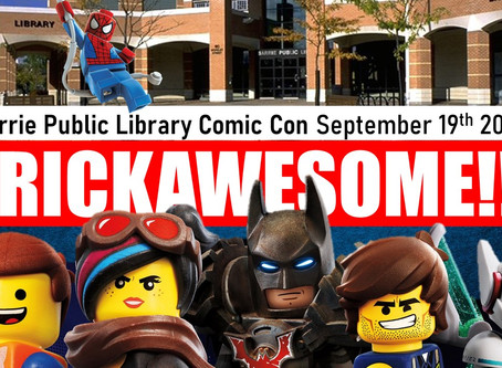 Barrie Public Library Comic Con 2020