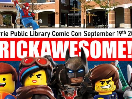 Barrie Public Library Comic Con 2020