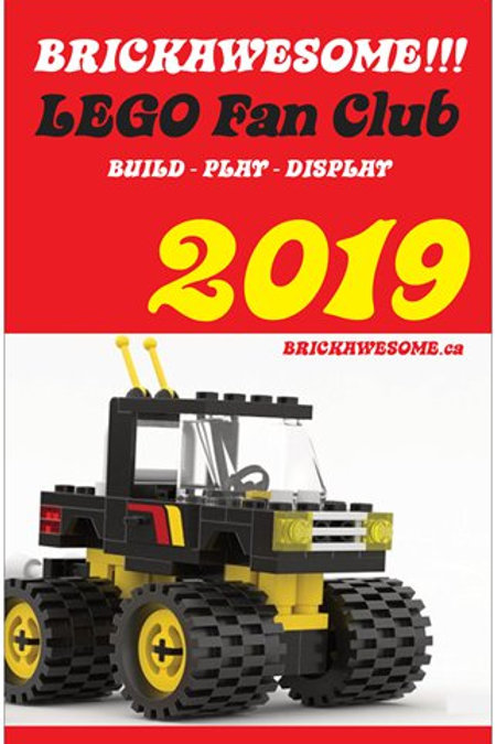 BRICKAWESOME!!! 2019 Poster