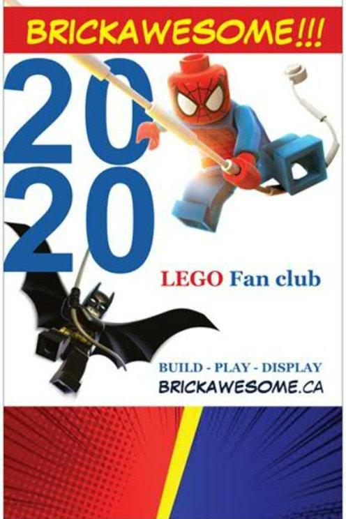 BRICKAWESOME!!! 2020 Poster