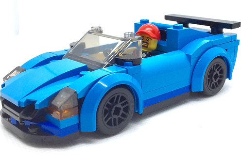 2021 Modified LEGO CITY Sports Car - Firegone Edition