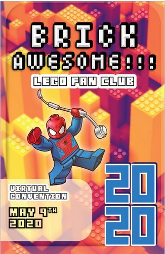 BRICKAWESOME 2020 Poster - Jonathan Merc