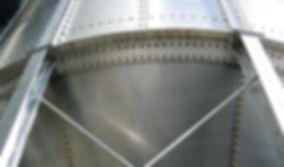 silo / cellule fond conique