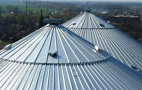 toiture silo / cellule à grain
