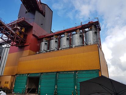stockage - silo - cellules