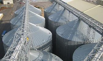 silos / cellules à fond plat  Agrazone