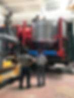 chargment séchoir mobile Agrazone