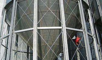 silo / cellule à fond conique Agrazone