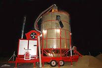 séchoir mobile Agrazone avec chaudière biomasse