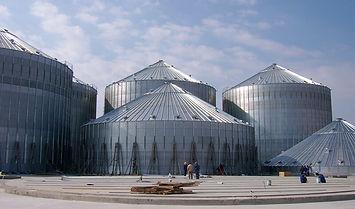 silos  / cellules de stockage grains Agrazone