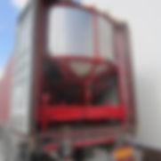 séchoir mobile en chargement containeur maritime