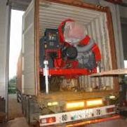 groupe chauffe séchoir mobile Agrazone en containeur maritime
