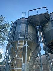 silo conique malterie