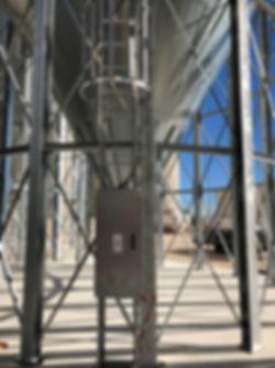 silo fond conique