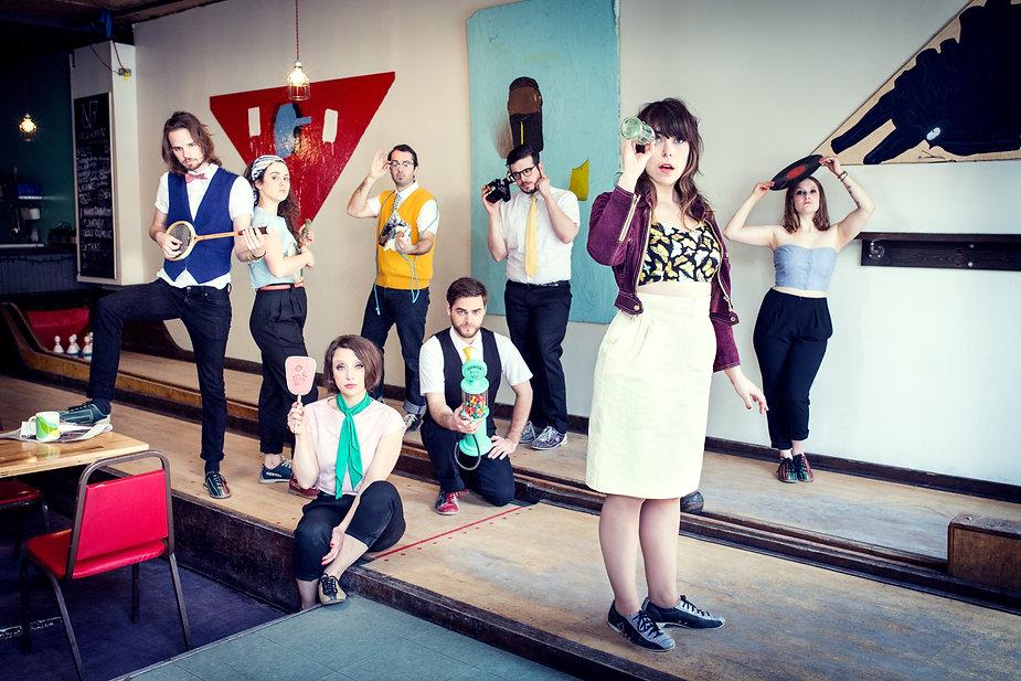 Jojo et les Sixtease - Crédits photo: Josée Lecompte