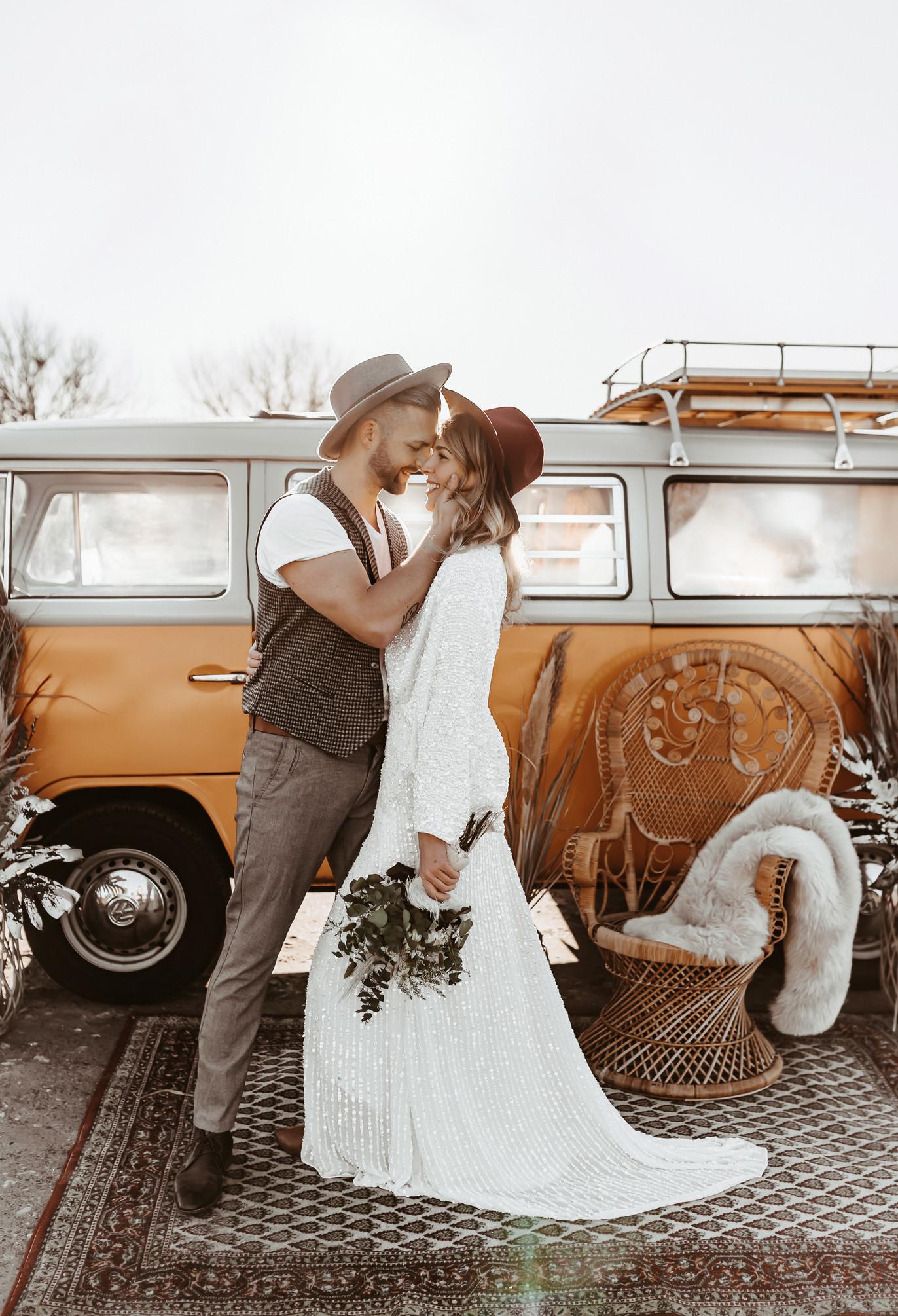 Bulli Hochzeits Bilder