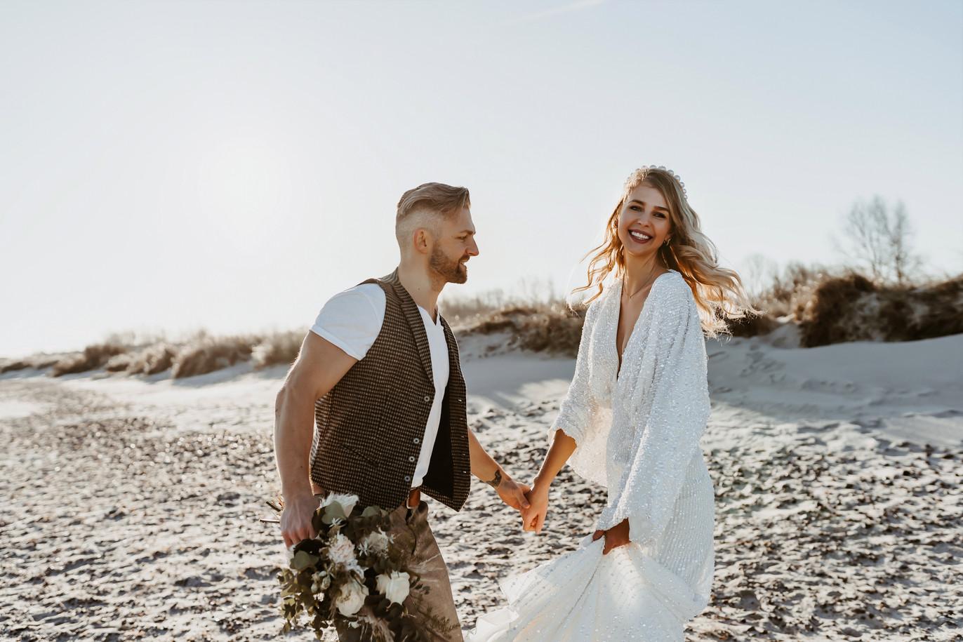 Strand Hochzeitsbilder