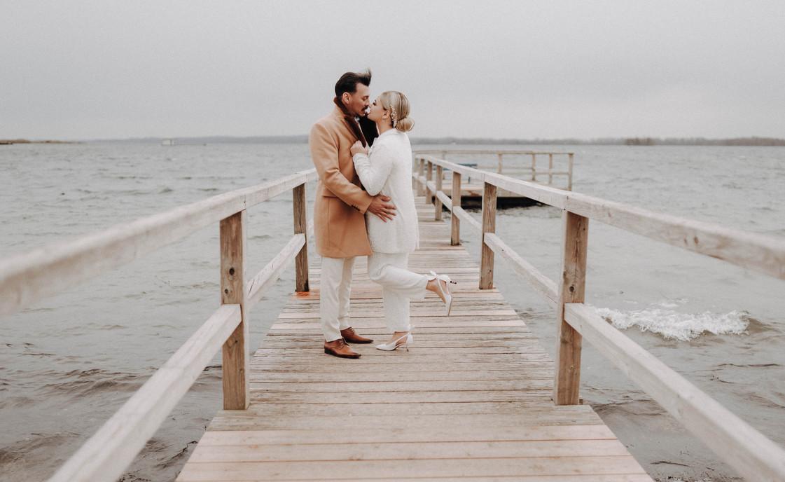 Am See Hochzeitsbilder