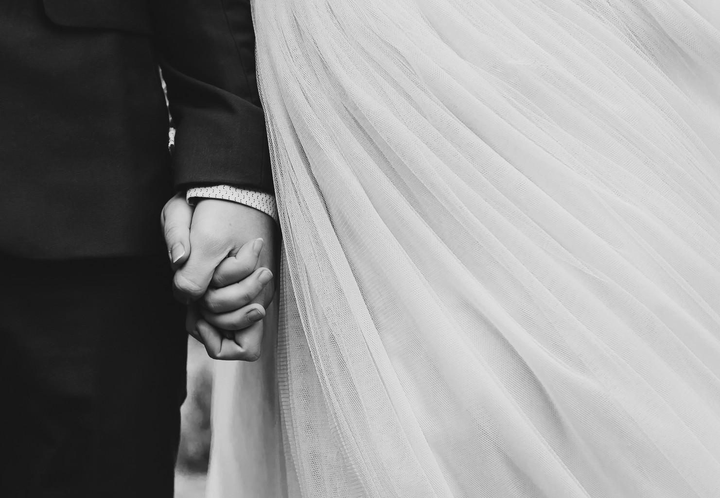 Hand in Hand Weddingphoto