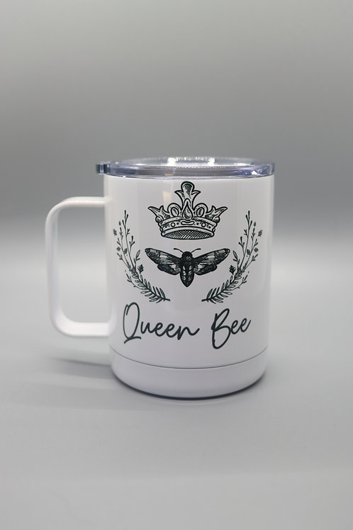 Queen Bee Travel Cup with Handle