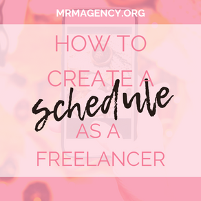 Creating a Schedule as a Self Employed