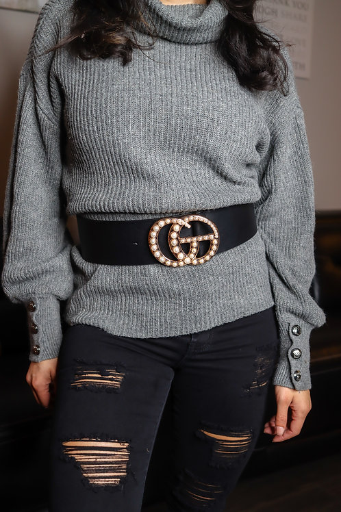 Boujee on a Budget Pearl Belt