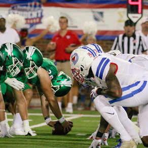SMU Rolls over UNT, 65-35