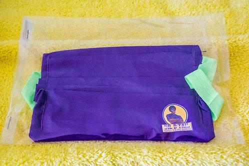 Dr Dtail Reusable Face Mask (Purple)