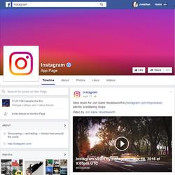 Instagram Facebook Feature