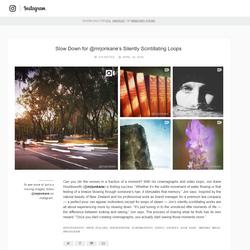 Instagram Blog Feature