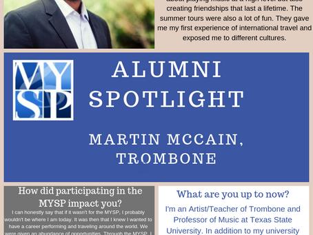 MYSP Alumni Spotlight, Martin McCain