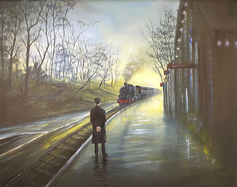 Next Stop...HAWORTH Limited Edition Signed Print of 95