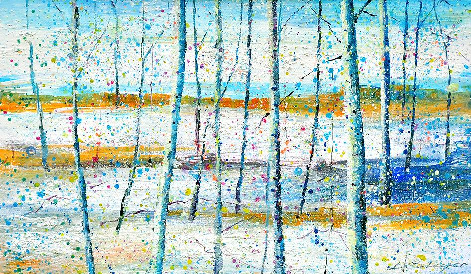 Birken winterwunderland - birches winterwonderland